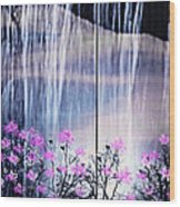 Rainy Nights In Georgia Wood Print