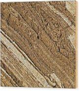 Rajasthan Sandstone Marble Streaks Wood Print
