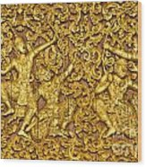 Ramayana Wood Print
