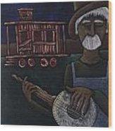 Ramblin' Man Wood Print