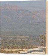 Ramganga River Flowing Through Corbett National Park Wood Print