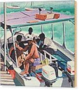 Ramon's Glass Bottom Boat Wood Print
