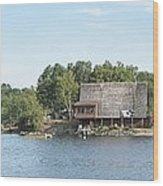 Ramsey Lake Sudbury Wood Print