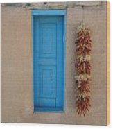 Ranchos De Taos Wall Wood Print