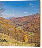 Randolph County West Virginia Wood Print