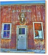 Randsburg Post Office Wood Print