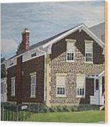Rasey House Wood Print
