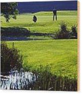 Rathsallagh Golf Club, Co Wicklow Wood Print