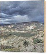 Rattlesnake Ridge Geological Site Wood Print
