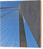 Ravenel Overhead Day - Vertical Wood Print