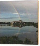 Reading Rainbow Wood Print
