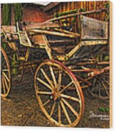 Ready For A Sunday Drive - Featured In Tennessee Treasures Group And Spectacular Artworks Group Wood Print