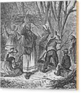 Reconstruction, 1868 Wood Print