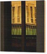 Rectangular Reflection Wood Print