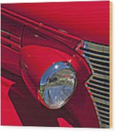 Red 1938 Chevy Coupe Wood Print