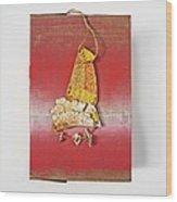 Red Box Wood Print