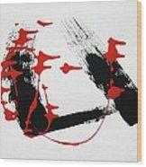 Red Brigade Dancers Wood Print