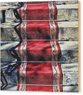 Red Carpet Treat Wood Print