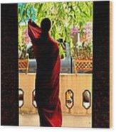 Red Divine Wood Print by Dean Harte
