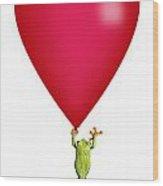 Red-eyed Tree Frog Agalychnis Wood Print