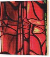 Red Green Wood Print