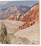 Red Rock Canyon - Keystone Thrust Wood Print
