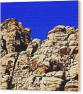 Red Rock Canyon 40 Wood Print