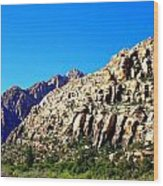 Red Rock Canyon 45 Wood Print