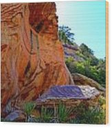Red Rock Canyon 46 Wood Print