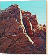 Red Rock Canyon 5 Wood Print by Randall Weidner