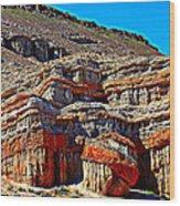 Red Rock Canyon California Wood Print