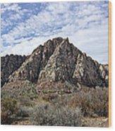 Red Rock Canyon - Nevada Wood Print