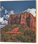 Red Rock Country Sedona Az Wood Print