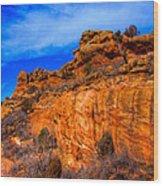Red Rocks Park Colorado IIi Wood Print