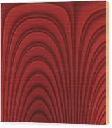 Red Textured Background Wood Print