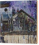 Redefining The American Dream 1 Wood Print