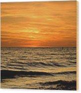 Redington Beach Sunset Wood Print