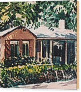 Redwood City #4 Wood Print