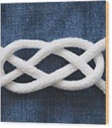 Reef Knot Wood Print
