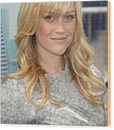 Reese Witherspoon Wearing A Rodarte Wood Print by Everett