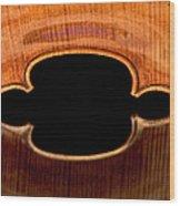 Reflected Corners Wood Print