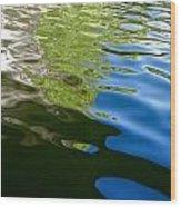Reflecting Lake Of The Isles  Wood Print