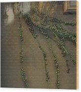 Reflecting On Beads Wood Print