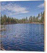 Reflection Lake Wood Print
