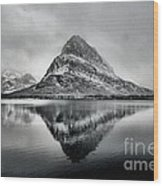 Reflections Of Grinnell Wood Print