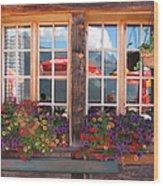 Reflections Of Switzerland Wood Print