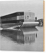 Refrigerated Barge, C1935 Wood Print
