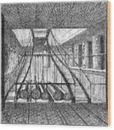 Refrigerated Ship, 1876 Wood Print
