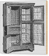 Refrigerator, C1900 Wood Print