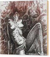 Regeneration-iii Wood Print